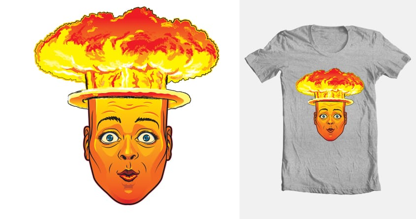 atomic hed by gparsons1 on Threadless