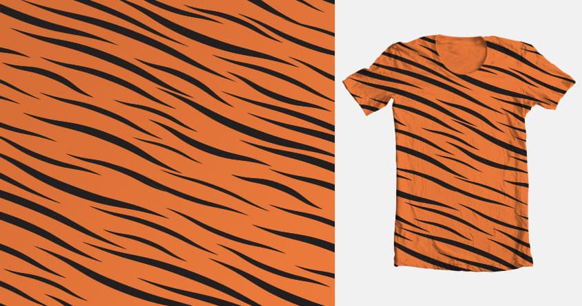 Tiger Stripes by keepitcomplicated on Threadless