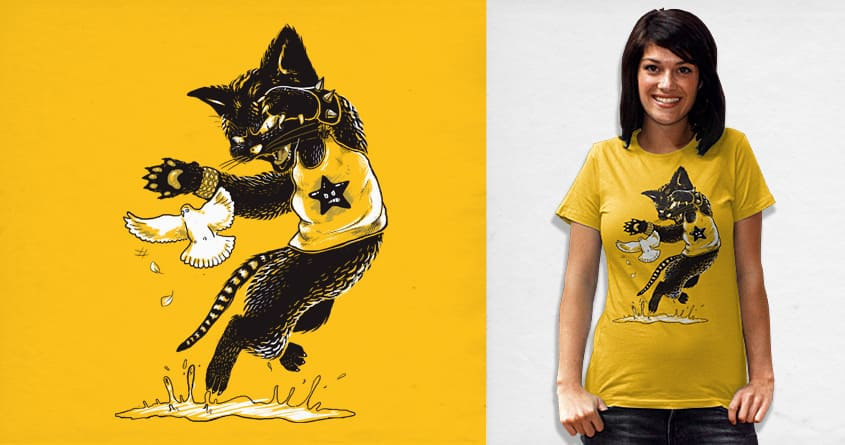 I'll get you! by kerb23 on Threadless