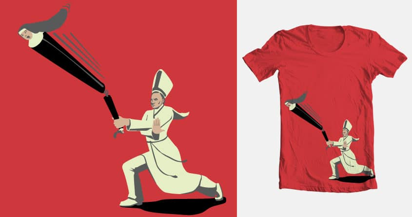 'il PAPA' & the Nunchucks  by Bonzaibon on Threadless