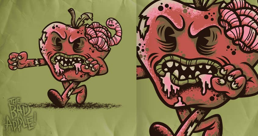 The Bad Apple by WanderingBert on Threadless