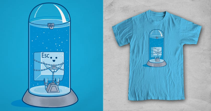 The Escape Artist by fathi on Threadless