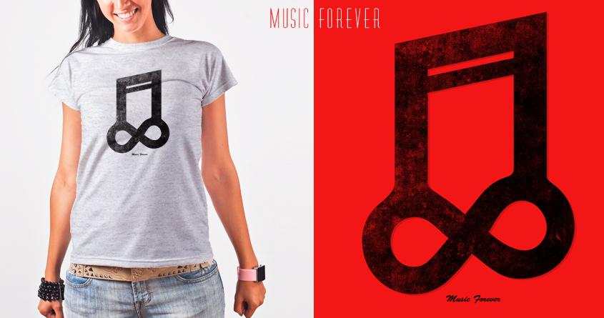 Music Forever by addu on Threadless