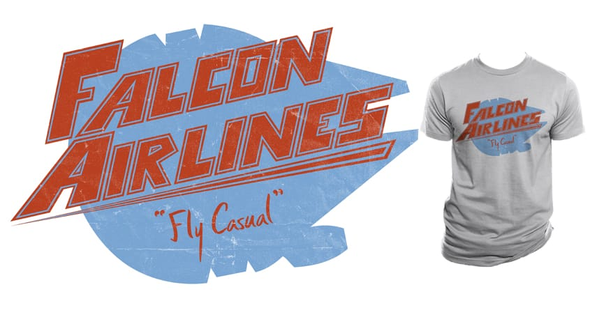 Falcon Airlines by Resistance on Threadless