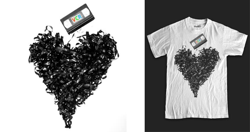 VCR Love by thegoodpope on Threadless