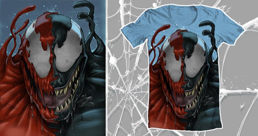 Score Venom Carnage by JChuppe on Threadless