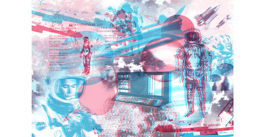 SPACE by Caroline David on Threadless