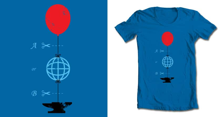 You Decide by Flying_Mouse on Threadless