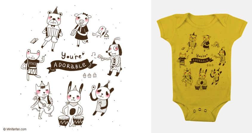 You're Adorable by minifanfan on Threadless