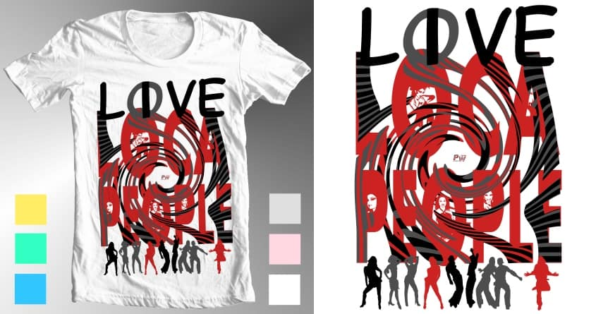 LOCA PEOPLE (T1) by PWCD on Threadless