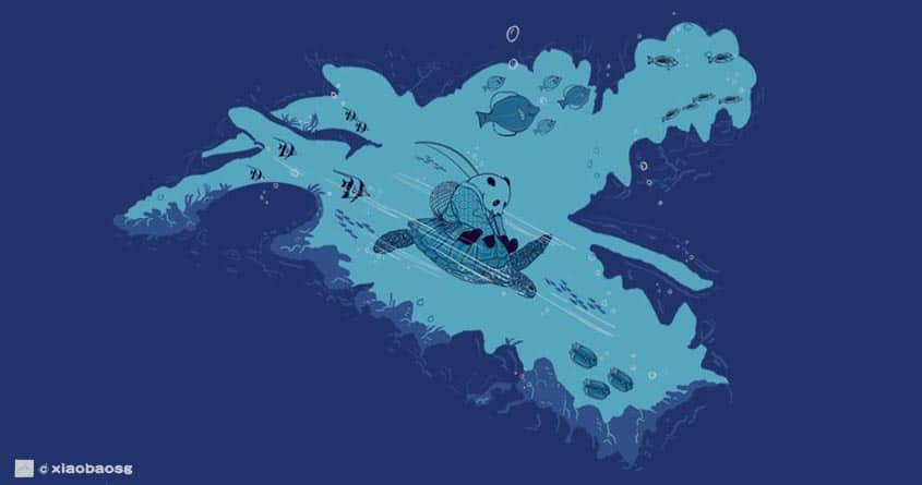 Enter the Dragon Palace by xiaobaosg on Threadless