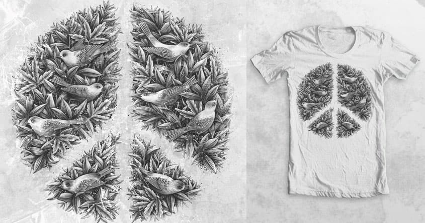 Peace naturalis by filgouvea on Threadless