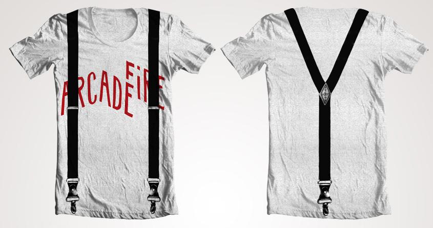 Arcade Fire Suspenders by casper93' on Threadless