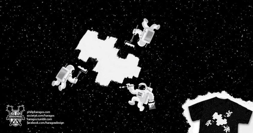 Incomplete Space by Haragos on Threadless