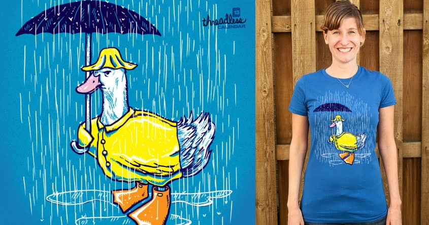 April Aylesbury Duck by nickv47 on Threadless