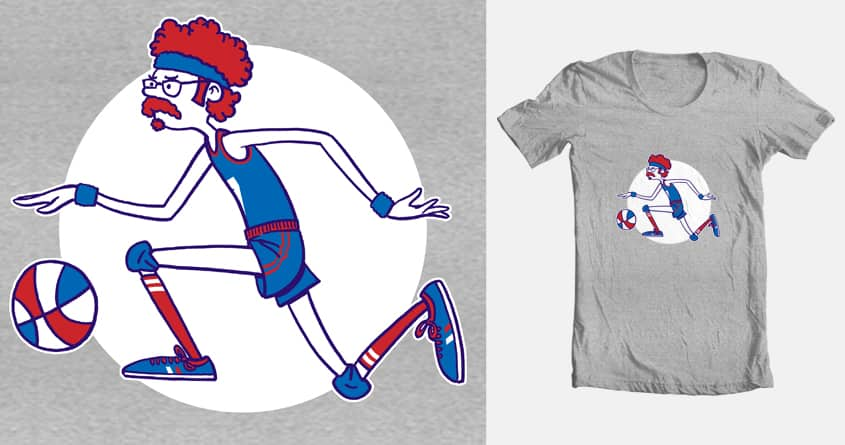Basketball Jones by lloydmcnab on Threadless
