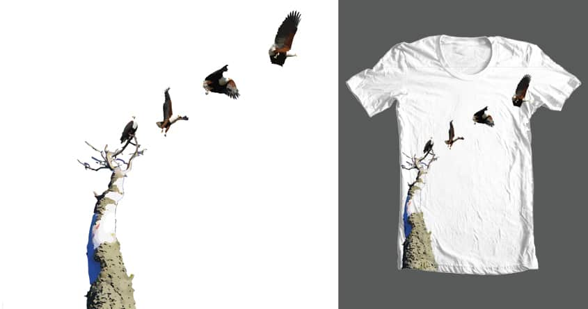 Takeoff by Michelsohel on Threadless