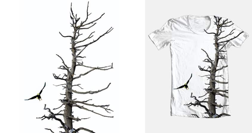 Birds N Twigs - Back from breakfast by Michelsohel on Threadless