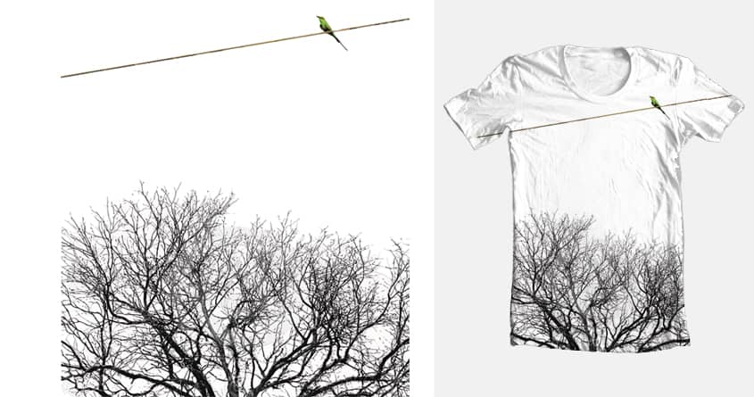 Birds N Twigs - Above the Clutter by Michelsohel on Threadless