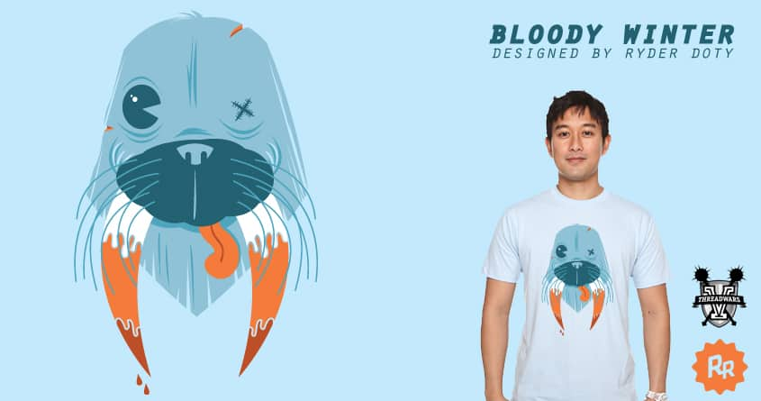 Bloody Winter by Ryder on Threadless