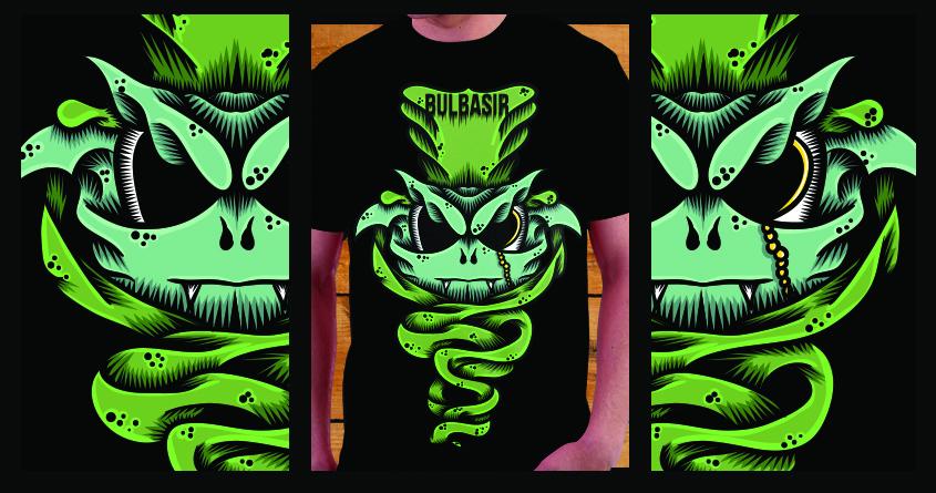"Bulba""sir"" by mrjellyfishy on Threadless"