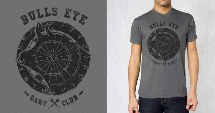 Bulls Eye by alexmdc on Threadless