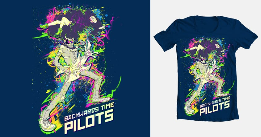 Backwards Time Pilots by MadPsyentist on Threadless