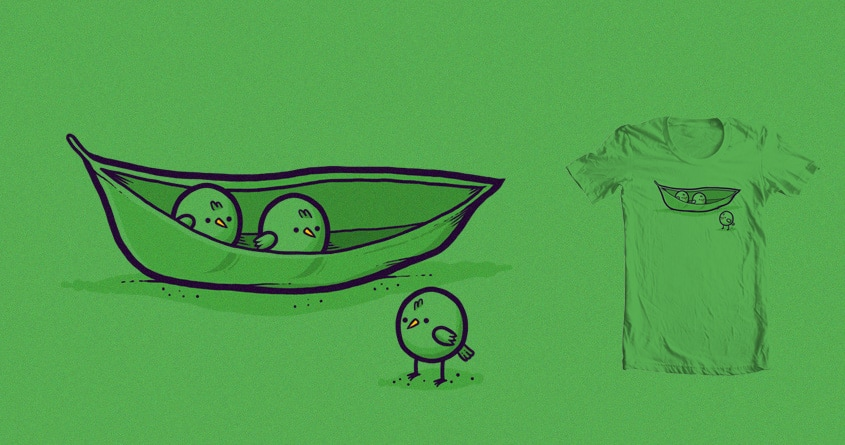 Chick peas by randyotter3000 on Threadless