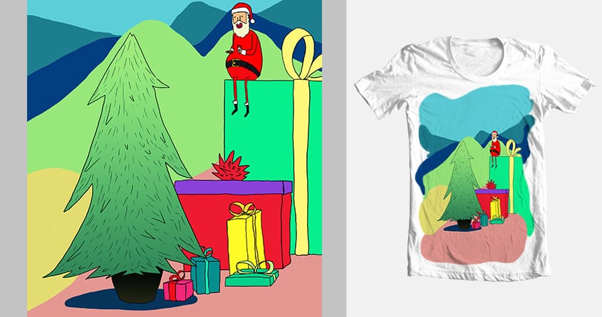 Christmas Chill by dillonbrannick on Threadless