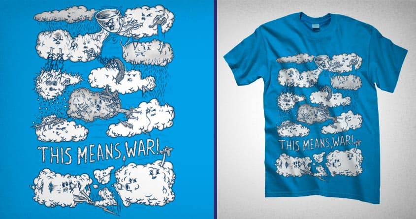 Cloud Wars by FRICKINAWESOME and Raulio on Threadless