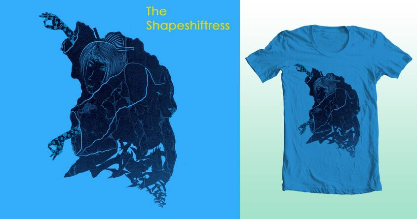 The Shapeshiftress by sombers_eye on Threadless