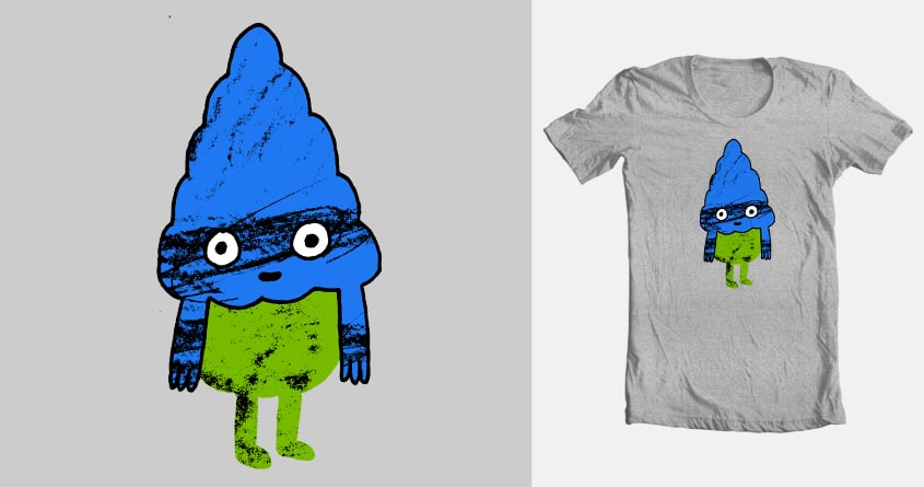 Messy & Happy by dannymcclain on Threadless