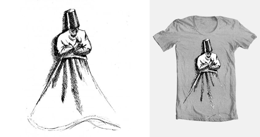 Whirling Dervishes - Reaching by ceylaninsel on Threadless