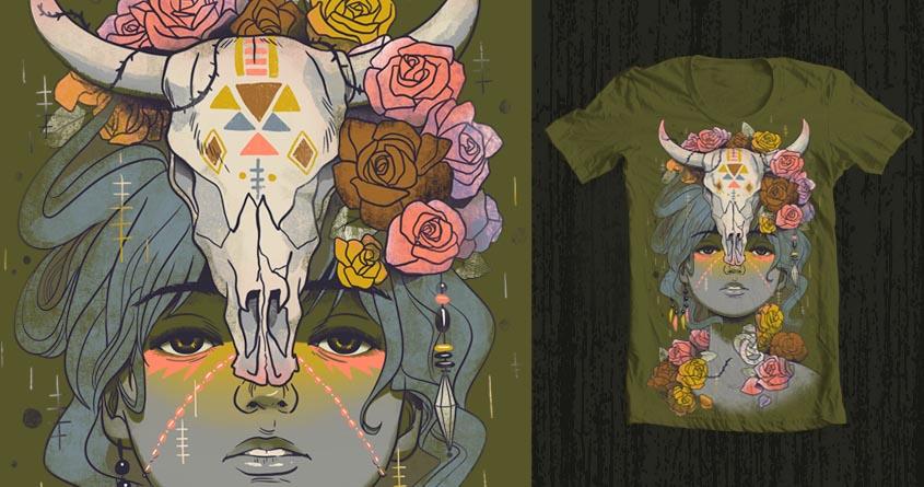 Desert Rose by sonmi on Threadless