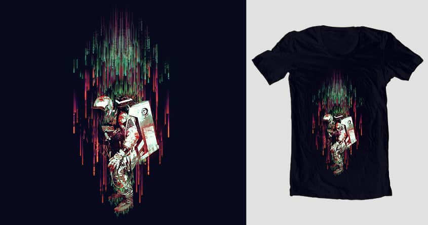 Falling From The Space by andaur on Threadless