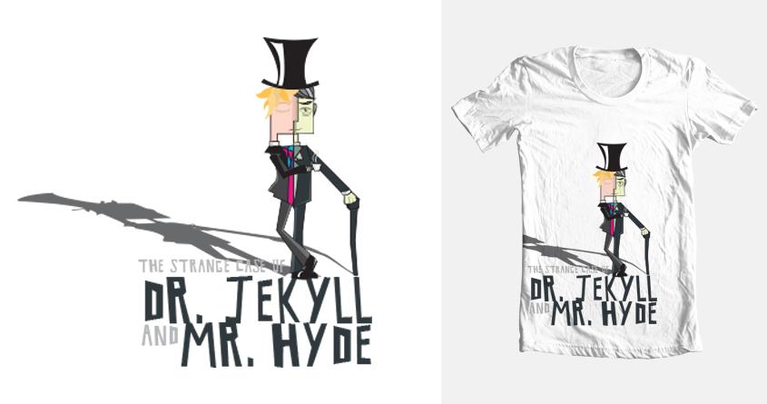Jekyll & Mr. Hyde by georginace on Threadless