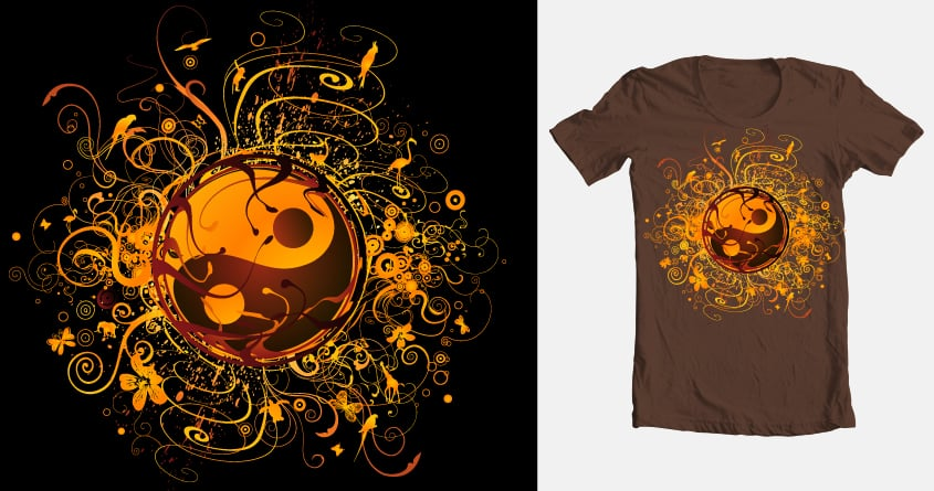 équilibre by kang98 on Threadless