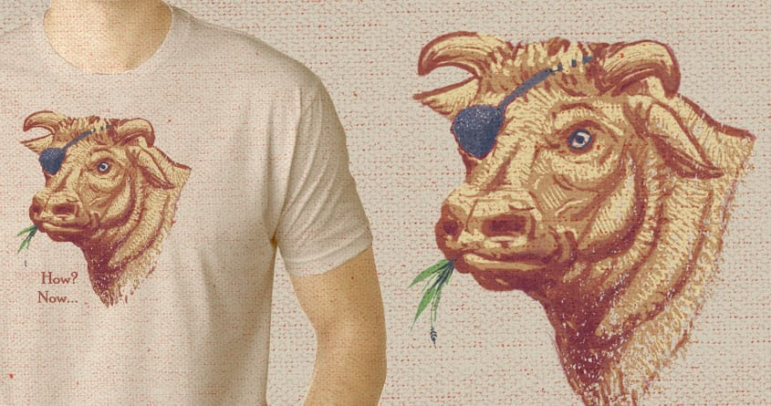 How Now, Brown Cow?... by Escape Artist on Threadless