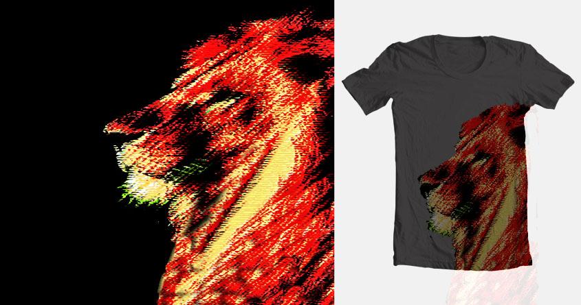 lion fantasy  by jakub abrahamguest on Threadless