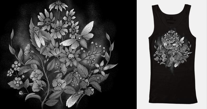 Les Fleurs du Mal by celandinestern on Threadless