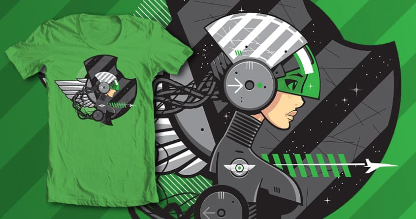 Chrono Pilot by euphospug on Threadless