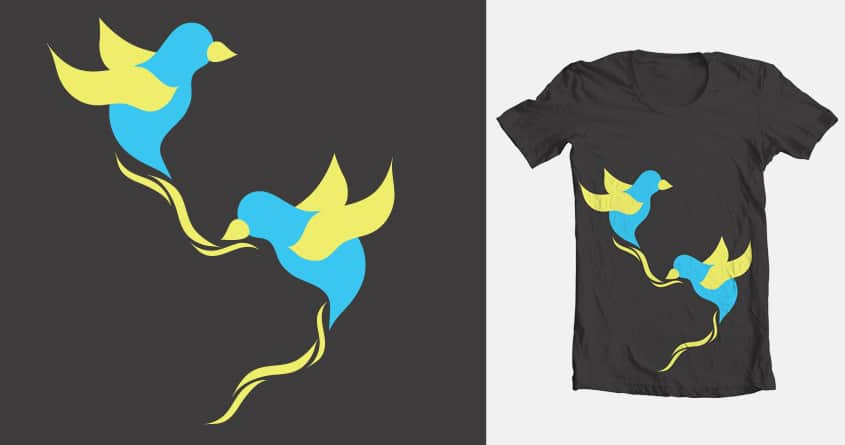Fly High by future_designer on Threadless