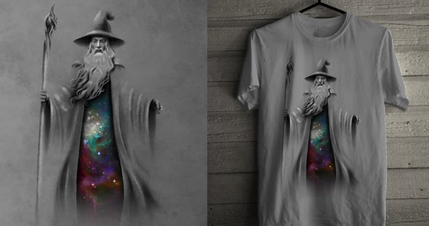 The Grey Wizard by jasmintee on Threadless