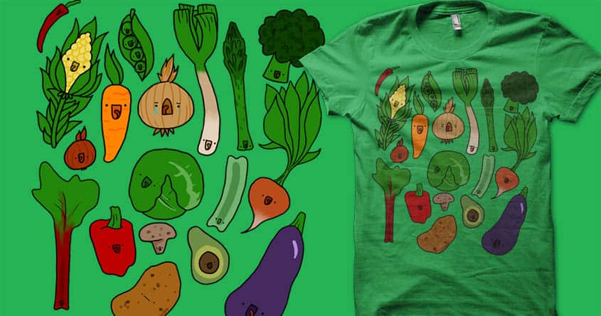 Happy Foods by geothebio on Threadless