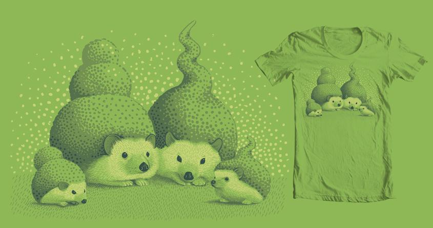 Hedgehogs by jillustration on Threadless