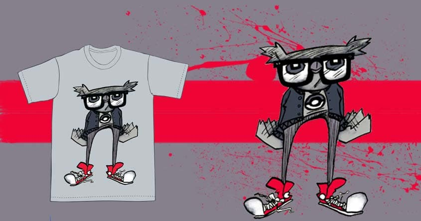 Hipster Pets: Oswald Owl by gmac06 on Threadless