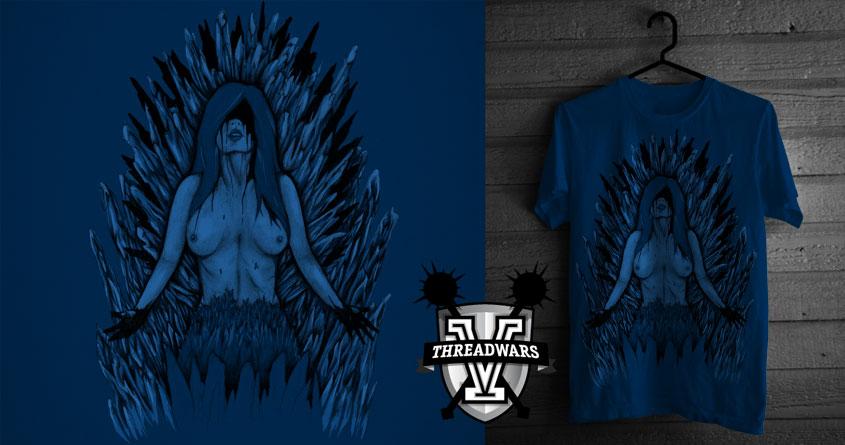 The Ice Queen by Torakamikaze on Threadless