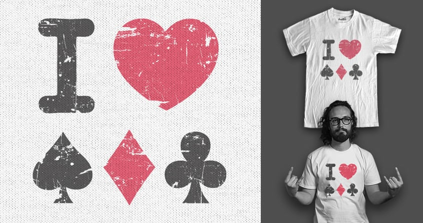 Love For the Game by staffell on Threadless