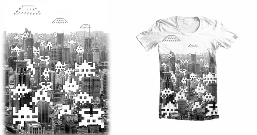 Invasion by Sintalento on Threadless