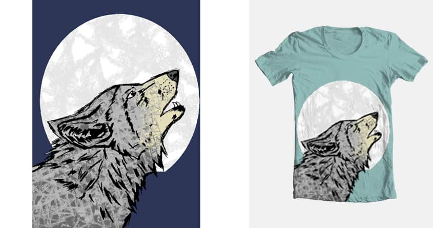 Moon After Yule by royaldesigngroup on Threadless